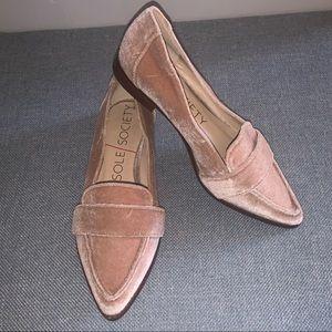 Sole Society Edie Velvet Loafer